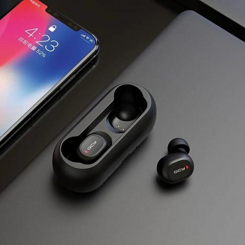 Безжични слушалки с Powerbank QCY T1