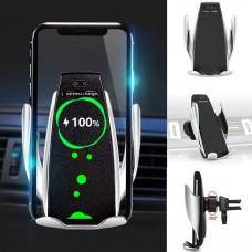Автоматична стойка за кола с бързо-безжично зареждане 10W
