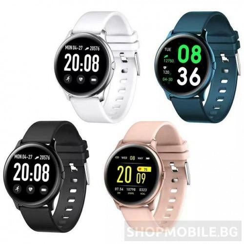 Смарт часовник WK19, IP67 Водоустойчивост, Пулс, Калории, Bluetooth, Ултратънък
