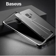 Прозрачен луксозен твърд гръб Baseus за Samsung Galaxy S8+