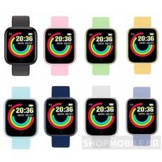 Водоустойчив Спортен Смарт Часовник Y68, Пулс, Kрачки, Разстояние, Мултиспорт, Bluetooth
