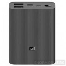 Външна батерия MI Power Bank 3 Ultra Compact, 10000 mAh, Fast Charge (22.5W), Dual USB-A + USB type C