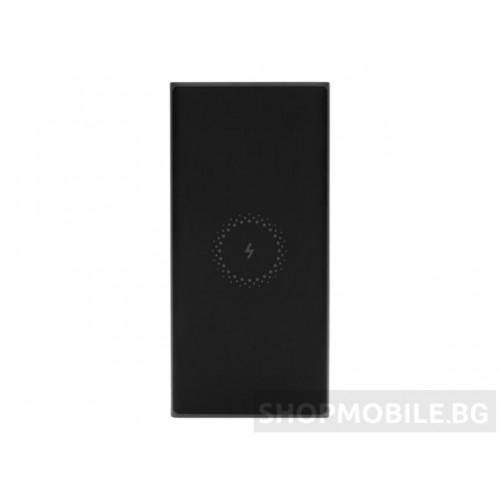 Външна батерия Xiaomi Mi Wireless Essential, USB Type C, 10000 mAh, 10W wireless