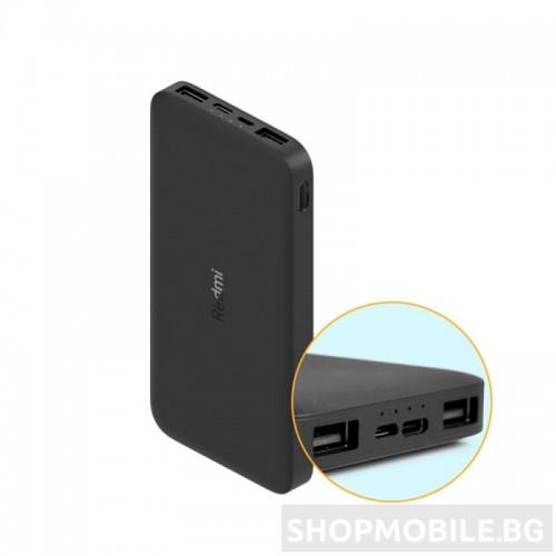 Външна батерия Xiaomi Redmi Fast Charge Power Bank, 10000 mAh