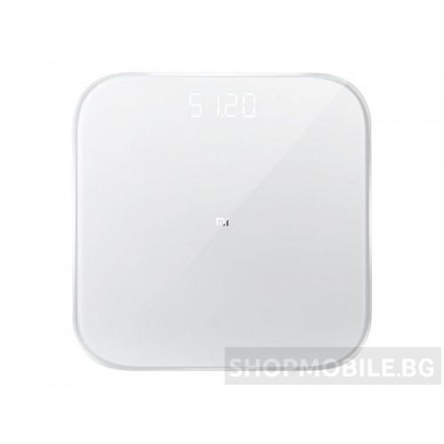 Кантар, Xiaomi Mi Smart Scale 2, до 150 кг, Bluetooth връзка, Закалено стъкло