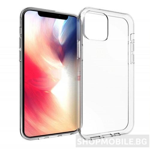 Ултра тънък прозрачен гръб за iPhone 12 PRO
