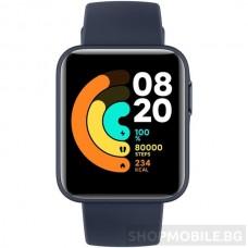 Смарт часовник Xiaomi Mi Watch LITE, Тъмно син