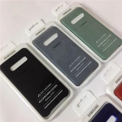 Луксозен, оригинален калъф от Алкантара за Samsung S10e