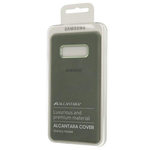 Луксозен, оригинален калъф от Алкантара за Samsung S10+