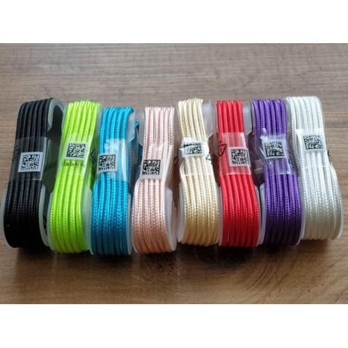 Плетен кабел с дължина 1,5м. Micro USB Type-C