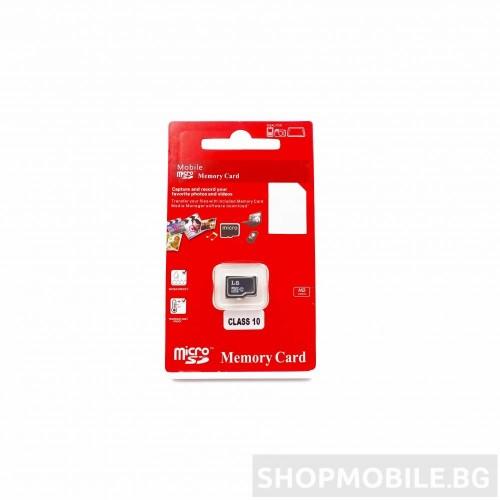 Micro SD Памет Class 10 – 64GB