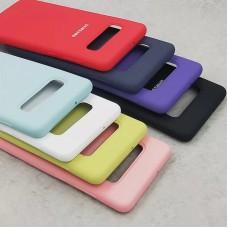 Оригинален силиконов кейс за Samsung Galaxy S10