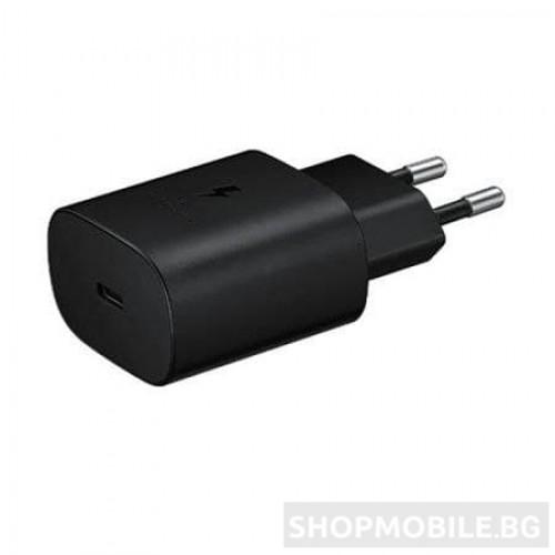 Мрежово зарядно устройство Samsung, Super fast charging, 25W