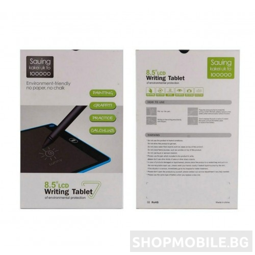 Таблет за рисуване и писане с екран 8.5 инча