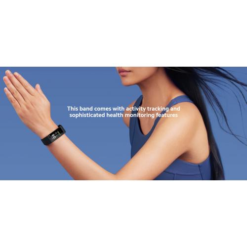 Xiaomi Mi Band 4C, Fitness Monitor, Сензор PPG, Черен, Global Version