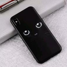 Мек силконов кейс с котешки очи за Iphone 7/8