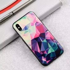 Мек силконов кейс с геометрични фигури за Iphone 7/8